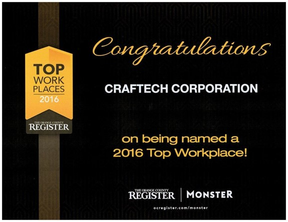 CRAFTECH CORP. -